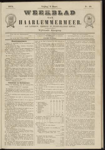 Weekblad van Haarlemmermeer 1874-03-06