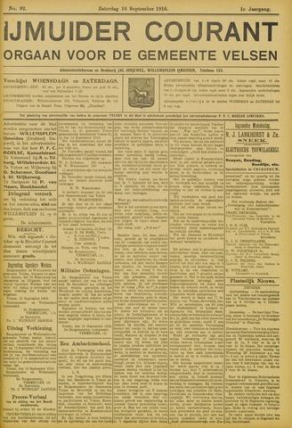 IJmuider Courant 1916-09-16