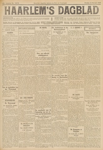 Haarlem's Dagblad 1926-02-09