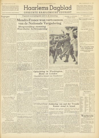 Haarlem's Dagblad 1954-12-28