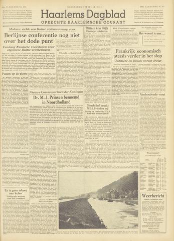 Haarlem's Dagblad 1954-02-04