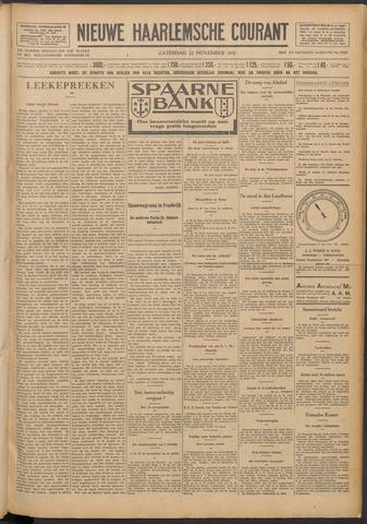 Nieuwe Haarlemsche Courant 1930-11-22
