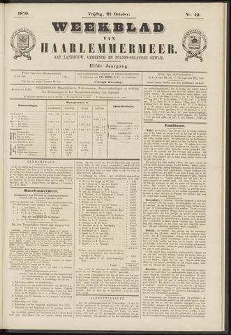 Weekblad van Haarlemmermeer 1870-10-21