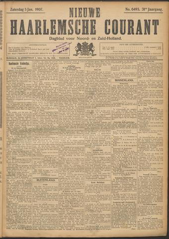 Nieuwe Haarlemsche Courant 1907-01-05
