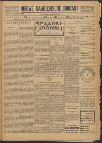 Nieuwe Haarlemsche Courant 1931-10-31