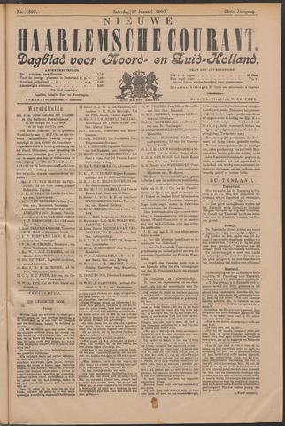 Nieuwe Haarlemsche Courant 1900-01-27