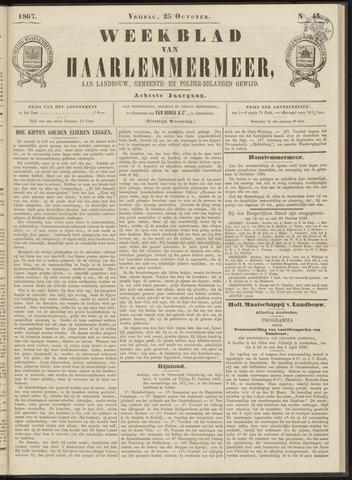 Weekblad van Haarlemmermeer 1867-10-25