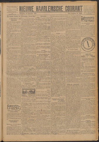 Nieuwe Haarlemsche Courant 1924-09-24
