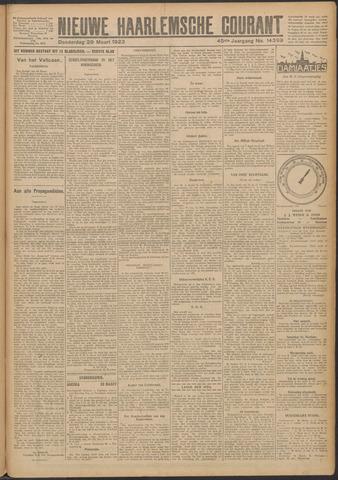Nieuwe Haarlemsche Courant 1923-03-29