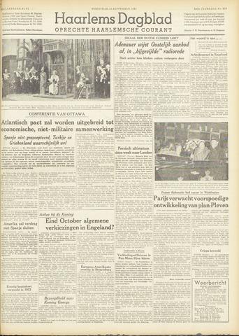 Haarlem's Dagblad 1951-09-19
