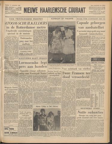 Nieuwe Haarlemsche Courant 1960-08-12