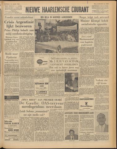 Nieuwe Haarlemsche Courant 1962-03-24