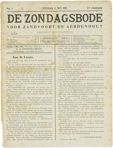 De Zondagsbode voor Zandvoort en Aerdenhout 1912-05-05