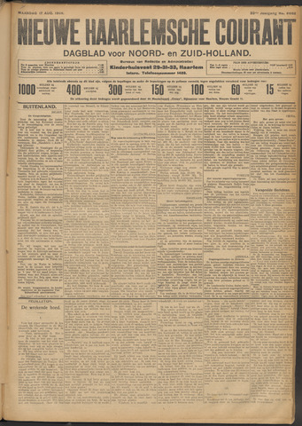 Nieuwe Haarlemsche Courant 1908-08-17