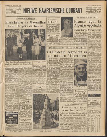 Nieuwe Haarlemsche Courant 1959-08-31