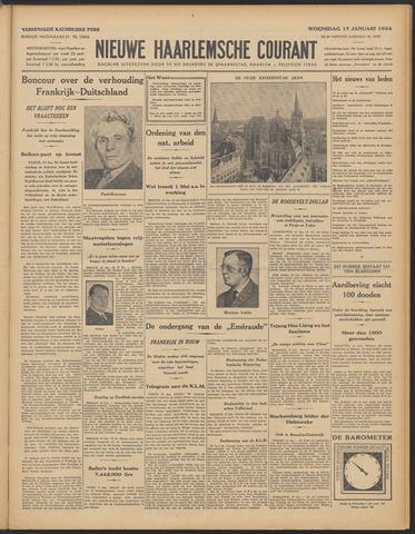 Nieuwe Haarlemsche Courant 1934-01-17