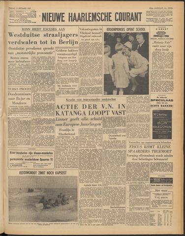 Nieuwe Haarlemsche Courant 1961-09-15