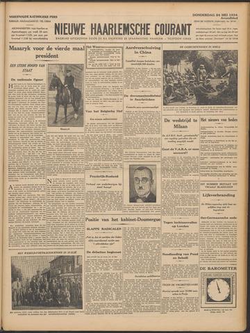 Nieuwe Haarlemsche Courant 1934-05-24