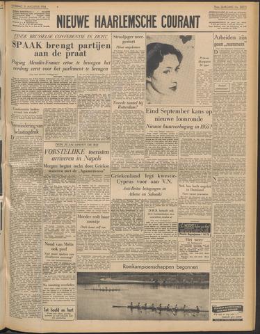 Nieuwe Haarlemsche Courant 1954-08-21