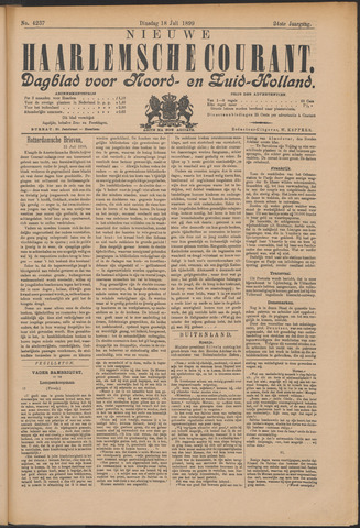 Nieuwe Haarlemsche Courant 1899-07-18