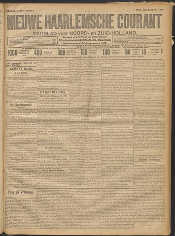 Nieuwe Haarlemsche Courant 1911-09-19