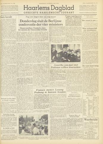 Haarlem's Dagblad 1954-02-15