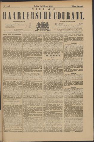 Nieuwe Haarlemsche Courant 1896-02-28