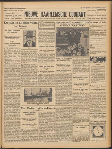 Nieuwe Haarlemsche Courant 1934-10-18