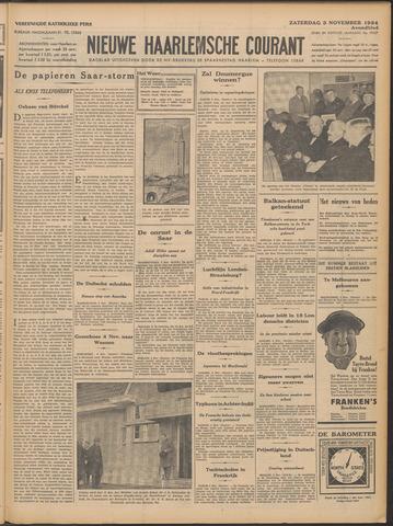 Nieuwe Haarlemsche Courant 1934-11-03