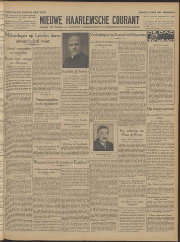 Nieuwe Haarlemsche Courant 1940-10-08