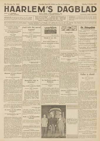 Haarlem's Dagblad 1935-10-01