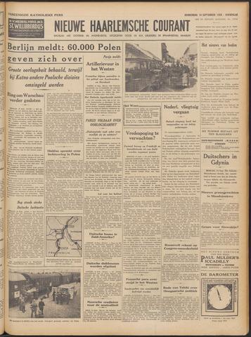 Nieuwe Haarlemsche Courant 1939-09-14