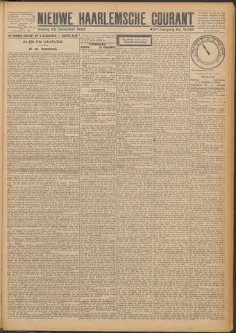 Nieuwe Haarlemsche Courant 1922-12-22