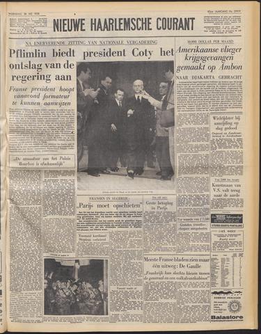 Nieuwe Haarlemsche Courant 1958-05-28