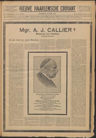 Nieuwe Haarlemsche Courant 1928-04-28