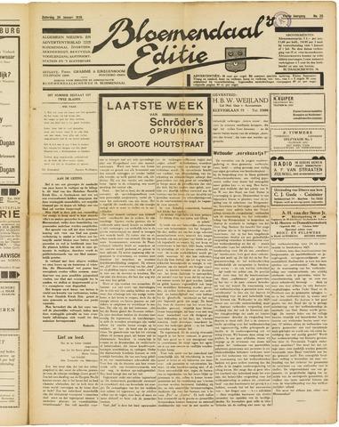 Bloemendaal's Editie 1929-01-26