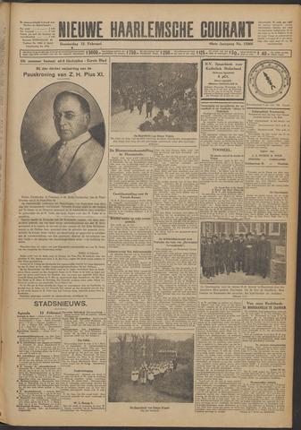 Nieuwe Haarlemsche Courant 1925-02-12