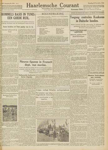 Haarlemsche Courant 1942-11-23