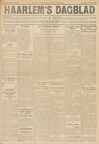 Haarlem's Dagblad 1926-02-01