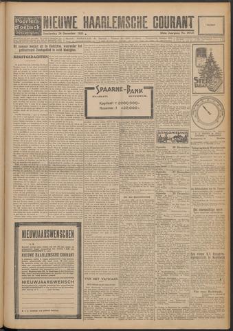 Nieuwe Haarlemsche Courant 1925-12-24