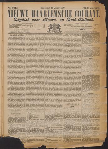 Nieuwe Haarlemsche Courant 1899-06-19