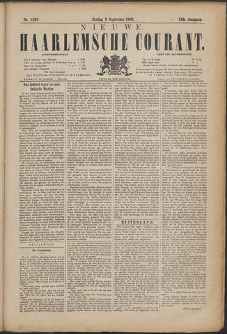 Nieuwe Haarlemsche Courant 1888-09-09