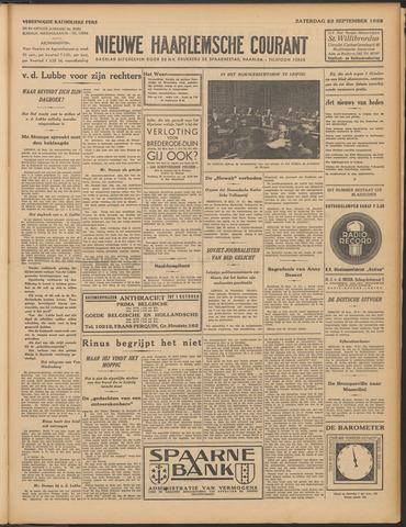 Nieuwe Haarlemsche Courant 1933-09-23