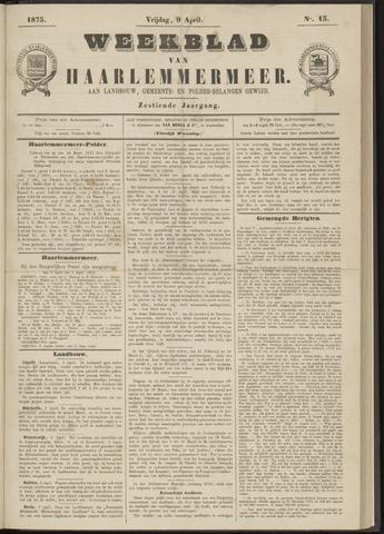 Weekblad van Haarlemmermeer 1875-04-09