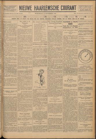 Nieuwe Haarlemsche Courant 1930-11-12