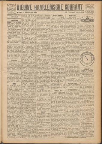 Nieuwe Haarlemsche Courant 1922-09-15