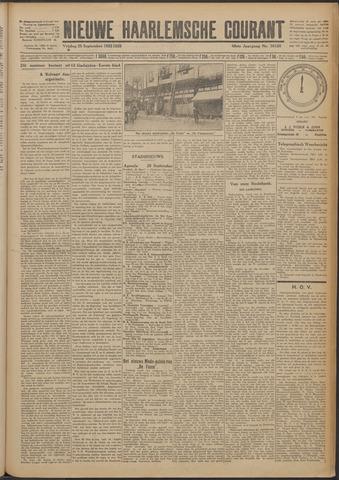 Nieuwe Haarlemsche Courant 1925-09-25