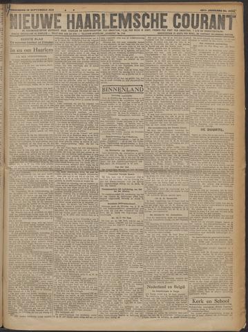 Nieuwe Haarlemsche Courant 1919-09-18