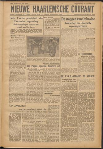 Nieuwe Haarlemsche Courant 1946-01-24