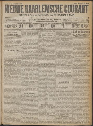 Nieuwe Haarlemsche Courant 1915-08-27